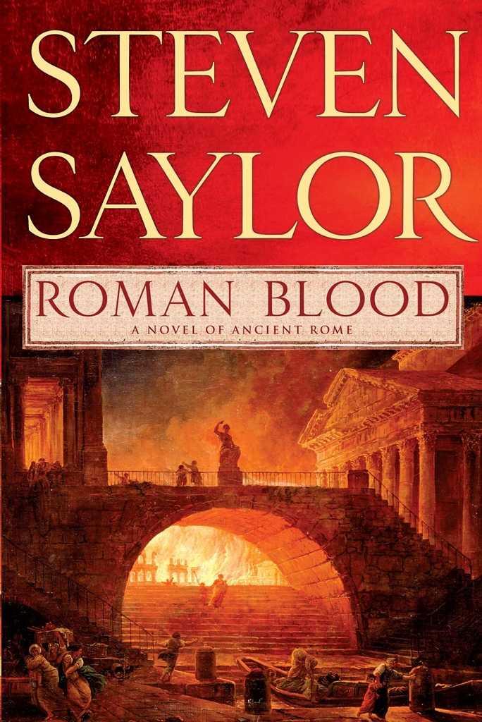 Roman Blood By Saylor, Steven